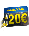 Goodyear 20 Euro cashback Quick